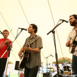 Mike Merenda and friends at the Oyster River Festival